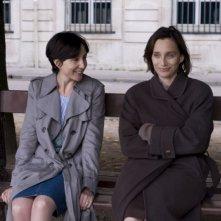 Elsa Zylberstein e Kristin Scott Thomas in una scena del film Ti amerò sempre