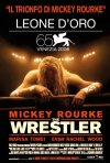 La locandina italiana di The Wrestler