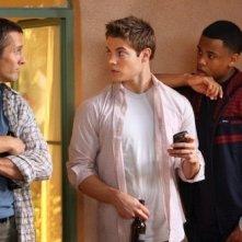 Rob Estes, Josh Henderson e Tristan Wilds nell'episodio Hello, Goodbye, Amen di 90210