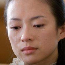 Zhang Ziyi in una scena del film The Horsemen