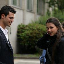 Alessandro Pess e Gilda Lapardhaja nell'episodio Fratelli de Il bene e il male