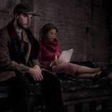 Lorenzo Balducci e Stefania Sandrelli in una scena del film Ce n'è per tutti