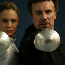 Mario Opinato e Anna Maria Malipiero in una scena dell'episodio Finché morte non vi separi de Il bene e il male
