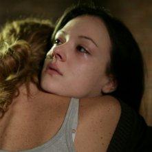 Marta Gastini in una scena dell'episodio La falsa pista de Il bene e il male