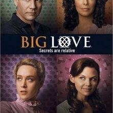 Un poster con i protagonisti della terza stagione di Big Love