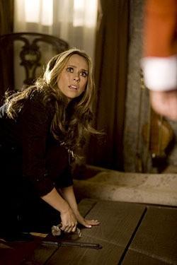 Jennifer Love Hewitt in una scena di Ball & Chain, decimo episodio della quarta stagione di Ghost Whisperer