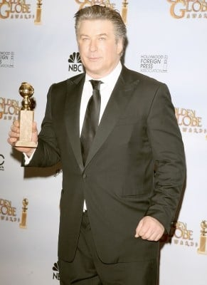 Alec Baldwin premiato come migliore attore per una serie tv comica per 30 Rock ai Golden Globes 2009
