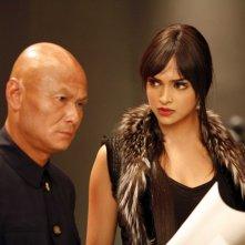 Chia Hui Liu e Deepika Padukone in una scena del film Chandni Chowk to China