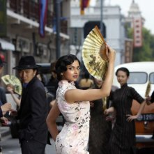Deepika Padukone in una scena di Chandni Chowk to China