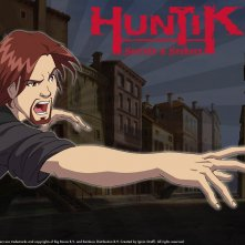 Il personaggio di Dante Vale in un wallpaper della serie Huntik