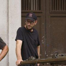 Il regista Steven Soderbergh sul set del film Che - L'Argentino