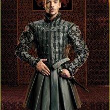 Jonathan Rhys Meyers in un'immagine promozionale della terza stagione de I Tudors
