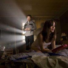 Kerr Smith e Megan Boone in un'immagine del film My Bloody Valentine 3D
