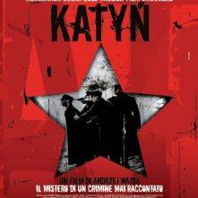 La locandina italiana di Katyn
