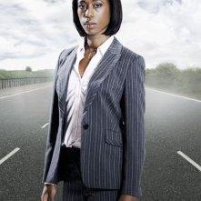 Nikki Amuka-Bird in un'immagine promozionale della serie tv Survivors