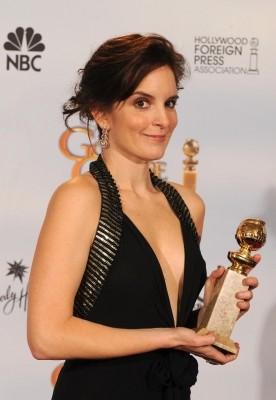 Tina Fey premiata come migliore attrice per una serie tv comica per 30 Rock ai Golden Globes 2009