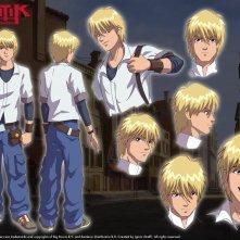 Un wallpaper del personaggio di Lok Lambert della serie Huntik