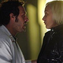 Fabio Troiano e Magdalena Grochowska in una scena della stagione 5 di R.I.S. - Delitti imperfetti