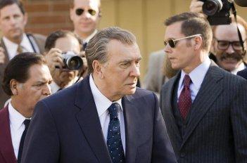 Frank Langella in una scena del film Frost/Nixon - Il duello