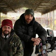I Manetti Bros., registi della serie L'ispettore Coliandro