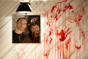 I Manetti Bros., registi della serie tv L'ispettore Coliandro