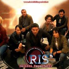 Il cast della stagione 5 di R.I.S. Delitti imperfetti in un wallpaper della serie