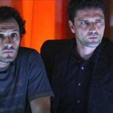 Lorenzo Flaherty e Fabio Troiano in una scena della stagione 5 di R.I.S. - Delitti imperfetti