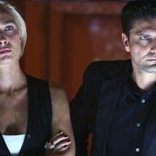 Lorenzo Flaherty e Magdalena Grochowska in una scena della stagione 5 di R.I.S. - Delitti imperfetti