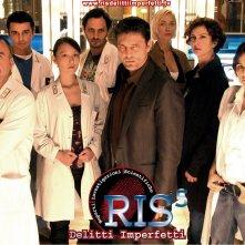 Un wallpaper con il cast della stagione 5 di R.I.S. Delitti imperfetti