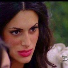 Cristina Del Basso durante la prima puntata del Grande Fratello 9