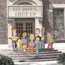 La locandina di Sit Down, Shut Up