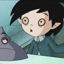 Un'immagine della serie d'animazione Scuola di Vampiri
