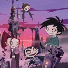 Un'immagine promozionale della serie Scuola di vampiri