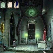 Una scena della serie d'animazione Scuola di Vampiri