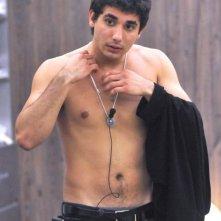 Grande Fratello 9 - Ferdi Berisa a torso nudo