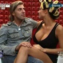 Grande Fratello 9 - giorno 3: Cristina Del Basso e Fabrizio Cimmino