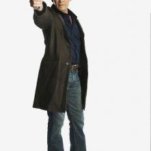 Patrick Swayze in una foto promozionale della serie The Beast