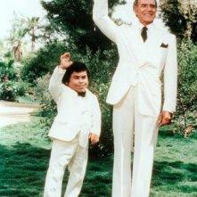 Ricardo Montalban con Hervé Villechaize nel serial Fantasilandia