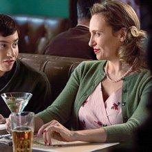 Toni Collette e Keir Gilchrist in una scena dell'episodio Work di The United States of Tara
