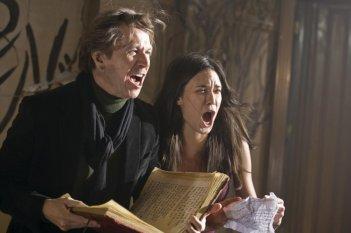Una sequenza del thriller Il mai nato, del 2009