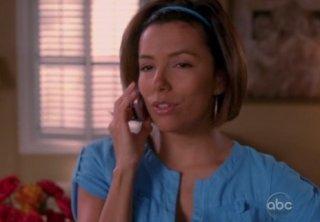 Eva Longoria Parker nell'episodio Connect! Connect! della quinta stagione di Desperate Housewives