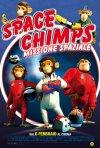 La locandina italiana di Space Chimps