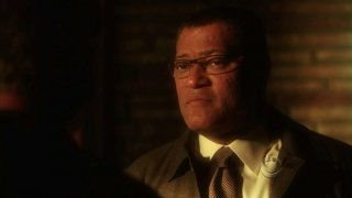 Laurence Fishburne in un momento dell'episodio 'One to go' della serie tv CSI Las Vegas