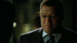 Laurence Fishburne in una scena dell'episodio 'One to go' della serie tv CSI Las Vegas