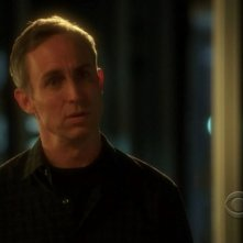 Wallace Langham in una scena dell'episodio 'One to go' della serie tv CSI Las Vegas