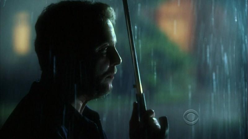 William Petersen in una scena dell'episodio 'One to go' della serie tv CSI Las Vegas
