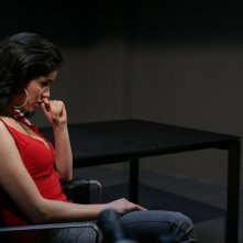 Elena Cucci in una scena dell'episodio Apparenze de Il bene e il male