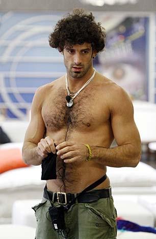Grande Fratello 9 - l'ormeggiatore genovese Alberto Scrivano, uno dei concorrenti più sexy dell'edizione 2009