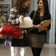 Leighton Meester e Laura Breckenridge nell'episodio You've Got Yale di Gossip Girl