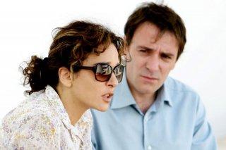 Valeria Golino e Valerio Mastandrea in un'immagine di Giulia non esce la sera